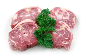 Lamb Neck Sliced
