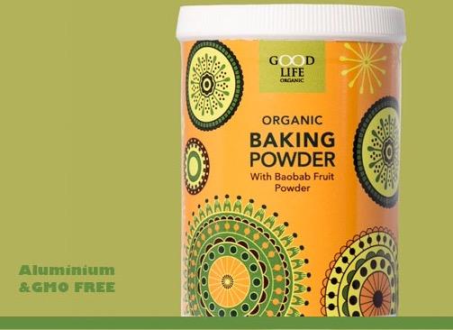 Organic Baking Powder, 140g