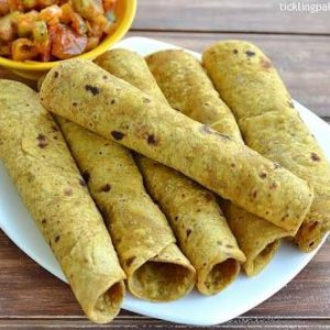 Chickpea Curry Rooti