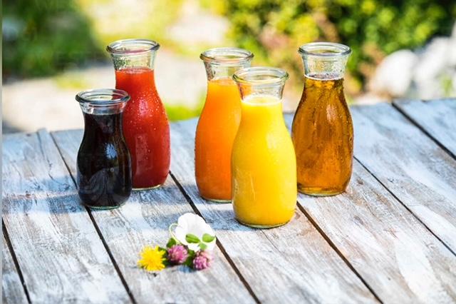 Spring Water & Juice