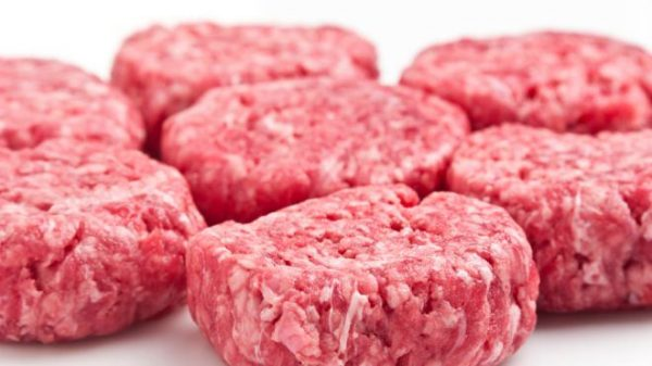 Beef Hamburger Patties – 4 per pack