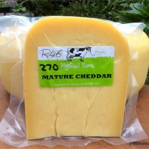 Mysthill MATURE CHEDDAR Cheese VP, 270g